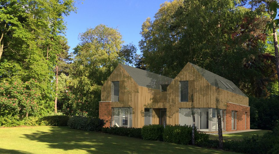 low energy house based on passivhaus principles